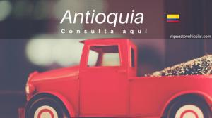 impuestos vehiculos antioquia
