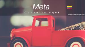 impuesto vehicular meta