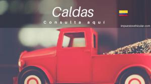 impuesto vehicular caldas