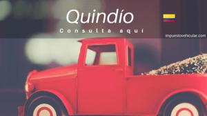 impuesto vehicular quindio colombia